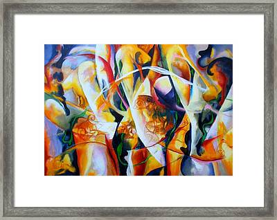 Irish Madness Framed Print