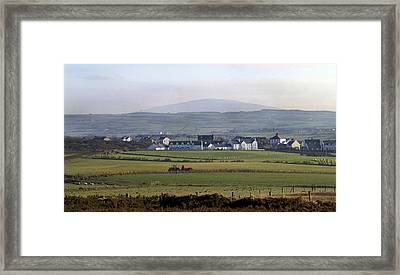 Irish Sheep Farm II Framed Print by Henri Irizarri