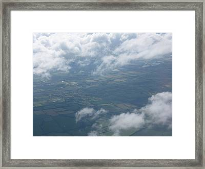 Irish Sky Framed Print by Frankie Graham