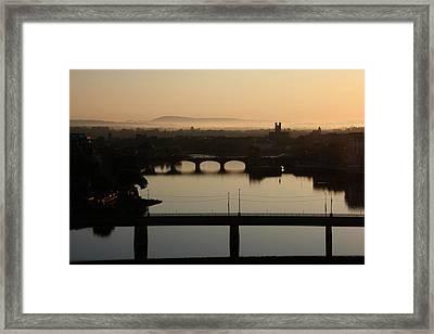Irish Sunrise  Framed Print by Catherine Alfidi