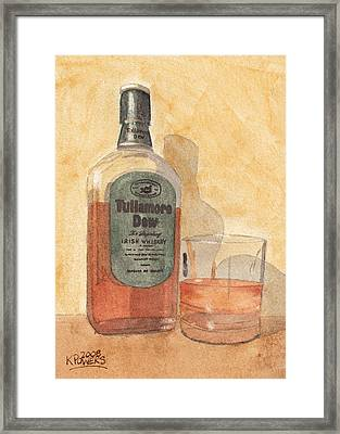 Irish Whiskey Framed Print by Ken Powers