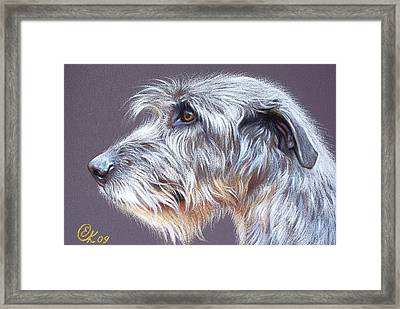 Irish Wolfhound  2 Framed Print