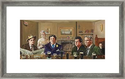 Irish Writers' Framed Print