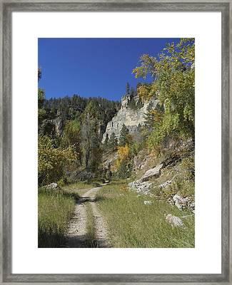 Iron Creek Framed Print