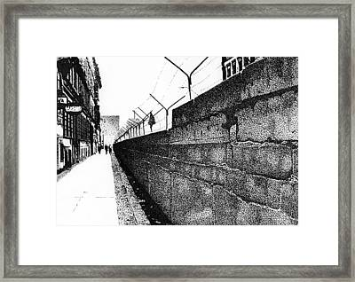 Iron Curtain Framed Print