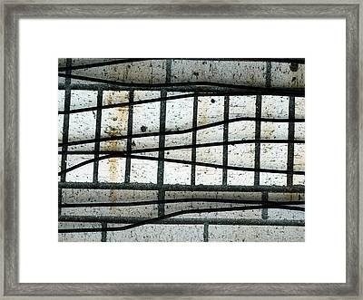 Iron Curtain Or One Hundred Years A Slave Framed Print
