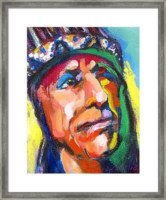 Iron Eyes Cody Framed Print