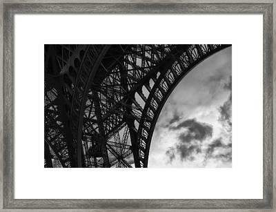 Iron Lattice Framed Print by Pablo Lopez
