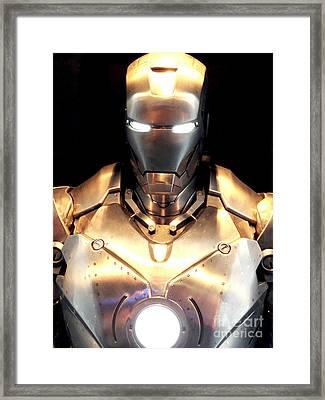 Iron Man 3 Framed Print by Micah May