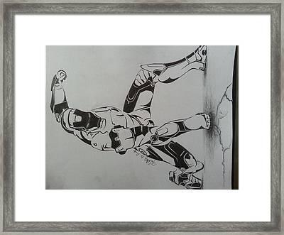 Iron Man Framed Print by Timothy Raj