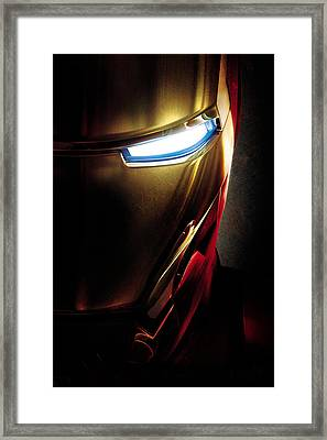 Iron Man Framed Print by Unknown
