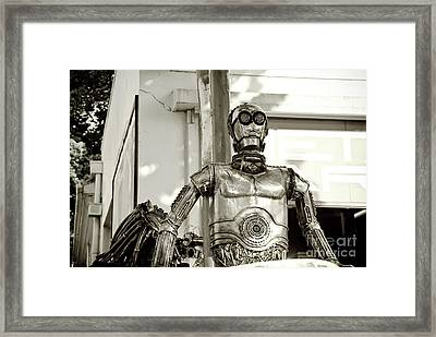 Iron Man Framed Print by Yurix Sardinelly