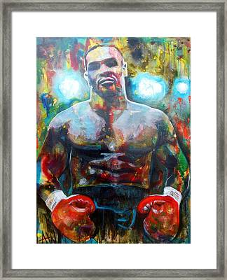 Iron Mike Framed Print by Angie Wright
