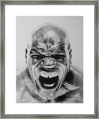 Iron Mike Framed Print