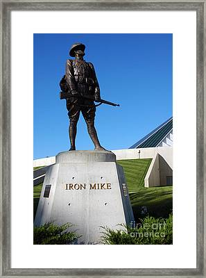 Iron Mike National Museum Of The Marine Corps Framed Print by Thomas R Fletcher