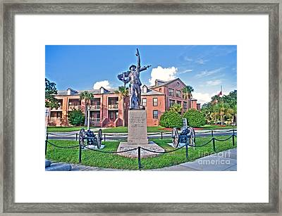 Iron Mke - Parris Island Framed Print by Scott Hansen