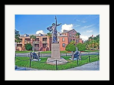 Parris Island Framed Prints
