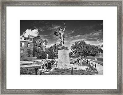 Iron Mke Statue - Parris Island Framed Print