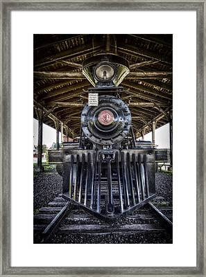 Iron Range Railroad Company Train Framed Print by Bill Tiepelman