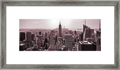 Iron Scape Framed Print by Az Jackson