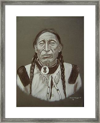 Iron Tail Framed Print by Edward Stamper