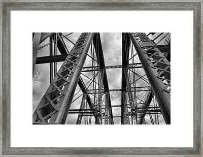 Iron Work Framed Print