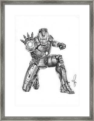 Ironman Framed Print by Artistyf