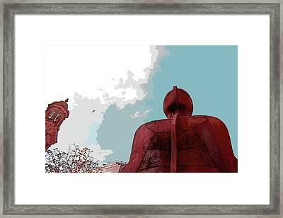 Ironman Framed Print