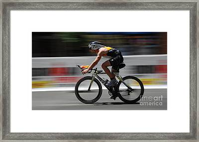 Ironman Need For Speed Framed Print by Bob Christopher