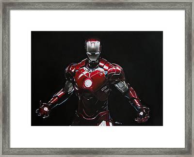 Ironman Framed Print by Robert Bateman