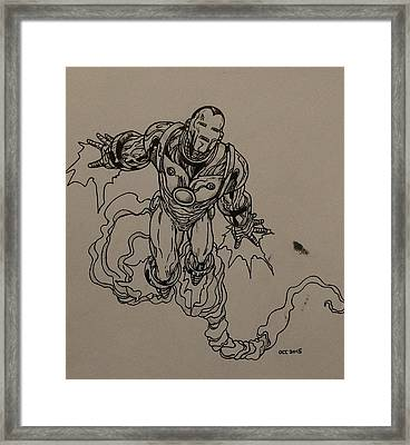 Ironman  Framed Print by Tom Stearns