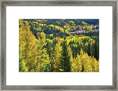 Framed Print featuring the photograph Ironton Fall Color by Ray Mathis