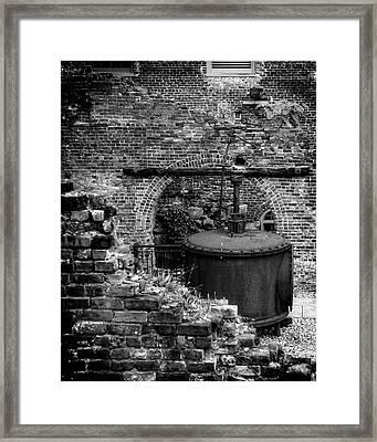 Ironworks Remains Framed Print