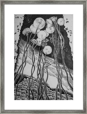 Irradiation Framed Print by Yelena Revis