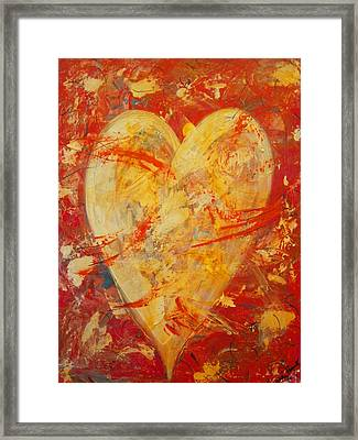 Irrefutable Heart Framed Print