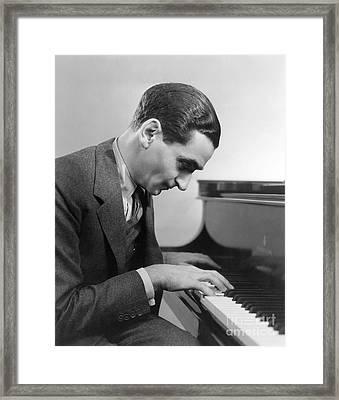 Irving Berlin (1888-1989) Framed Print by Granger