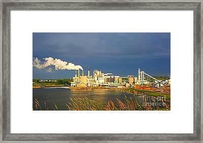 Irving Mill Framed Print