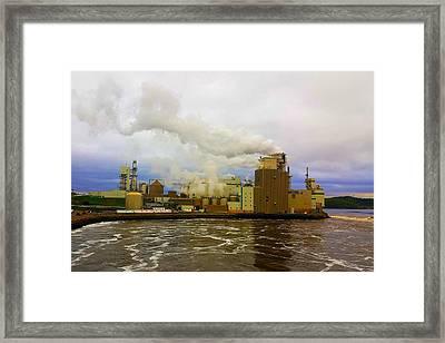Irving Pulp Mill #3 Framed Print