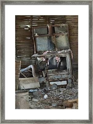 Is Breakfast Ready Framed Print by Lynne and Don Wright