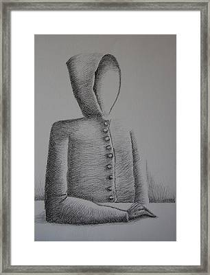Is Ego Just An Empty Shell Framed Print by Tanni Koens