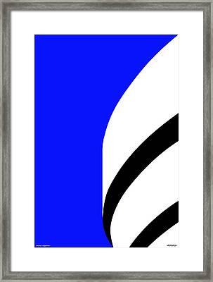 Is It Guggenheim Framed Print by Asbjorn Lonvig