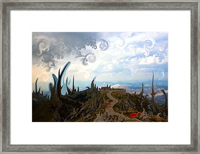 Is It  Framed Print by Marko Mitic