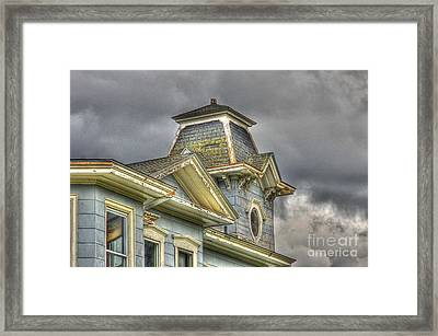 Is It Safe Framed Print by Robert Pearson