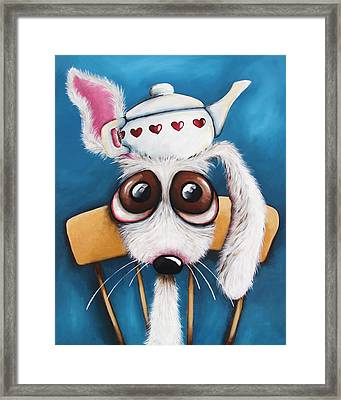 Is It Tea Time Yet Framed Print