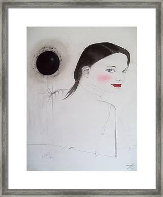 Is Like Vandalism Framed Print by Justin D B