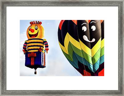 Is That A Rocket In Your Pocket Framed Print by Bob Orsillo