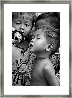 Is That Me Framed Print by Marion Galt