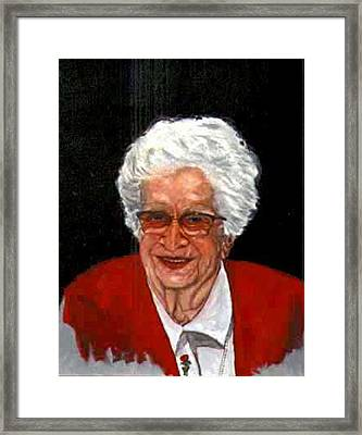 Isabel Framed Print by Stan Hamilton