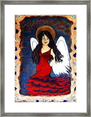 Isabella Framed Print by The Art With A Heart By Charlotte Phillips