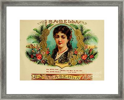 Isabella Framed Print by Pd